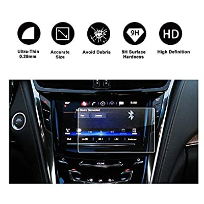 R RUIYA 2015-2020 Cadillac CTS 8In CUE infotainment Interface Touchscreen Car Navigation Touch Screen Protector,Tempered Glass 9H Anti-Scratch and Shock Resistant: Electronics