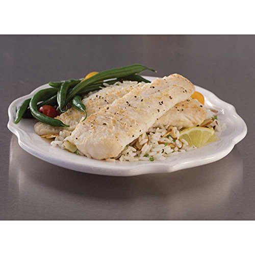 (Trident Seafoods Skinless Boneless Trident Alaskan Pollock Fillet - 80 of 4 to 6 Ounce Pieces, 25 Pound -- 1 each.)