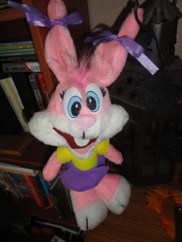 Plush Babs The Bunny Tiny Toons Plush Doll