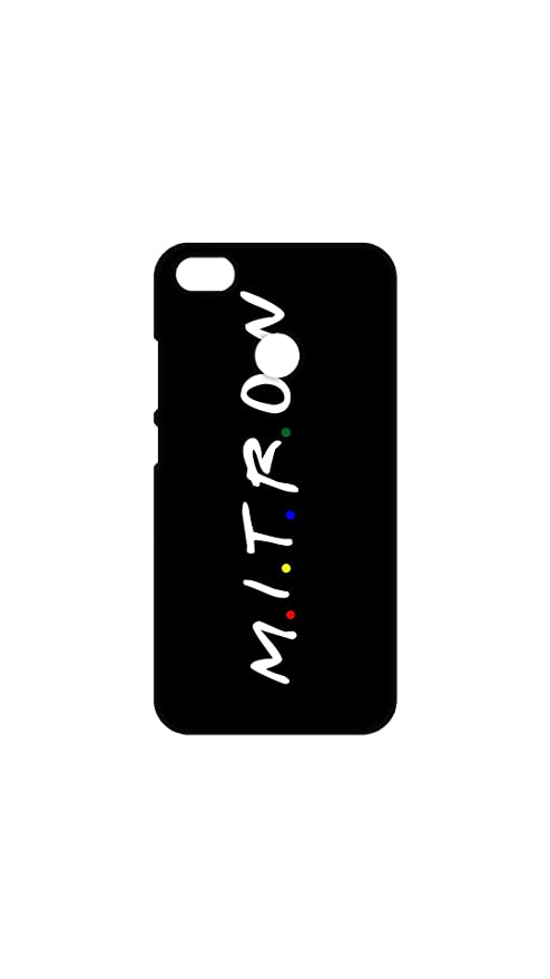 pretty nice 029d4 9d45f MITRON - FRIENDS Back Cover For Redmi Y1: Amazon.in: Electronics