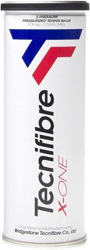 Tecnifibre X-One - Juego de 3 Pelotas de Tenis, Color Amarillo