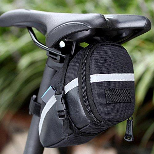 - Ezyoutdoor Black Bicycle Rear Seat Trunk Bag Shoulder Handbag Bag Pannier Multi-functional for Biking Hiking Sports Riding Mountain Bicycle