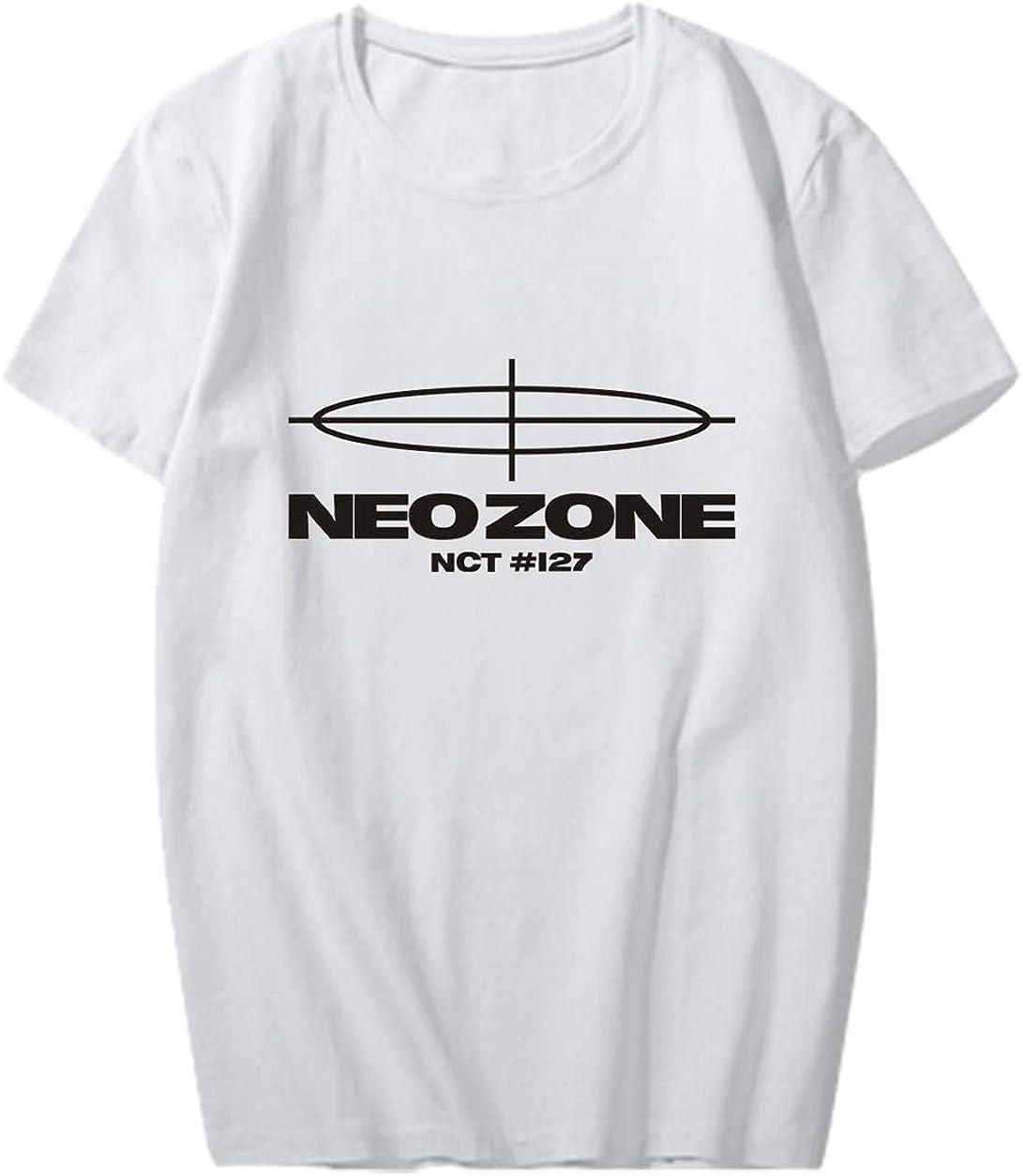 ACEFAST INC Kpop NCT127 Shirt Neo Zone T Shirt Taeyong Johnny Mark Jaehyun Doyoung Tour Tee Shirt