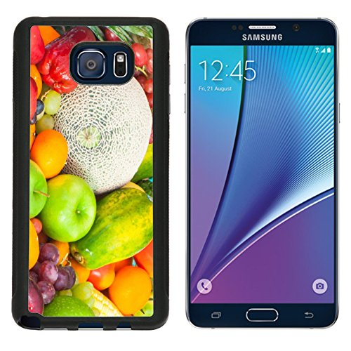 Luxlady Premium Samsung Galaxy Note 5 Aluminum Backplate Bumper Snap Case IMAGE ID: 27419279 fruits and vegetables (Lemon Drop Tomato compare prices)