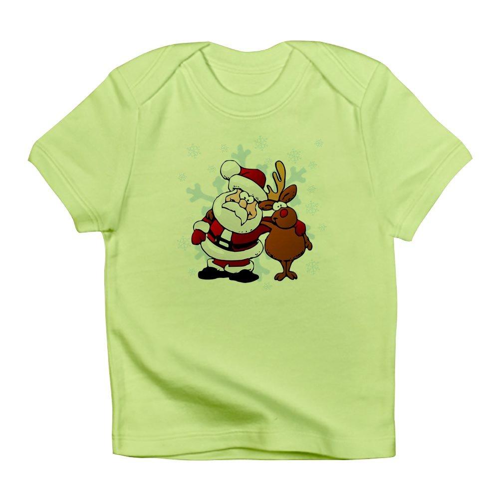 Best Friends Forever Kiwi Truly Teague Infant T-Shirt Santa Claus /& Rudolf 6 To 12 Months