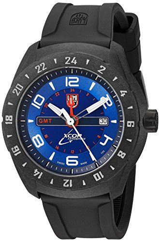 Resin Watch Dive Case (Luminox Men's 'SXC Space' Swiss Quartz Resin and Rubber Casual Watch, Color:Black (Model: 5023))