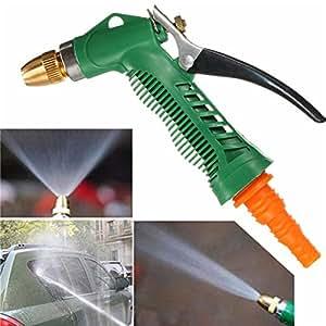 Garden hose nozzle metal hose nozzle high pressure water hose sprayer car wash for High pressure garden hose nozzle