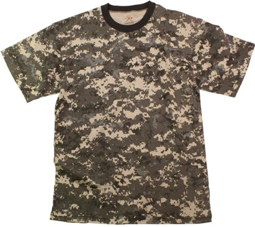 - City Camouflage Digital T-Shirt (Polyester/Cotton) Size Large