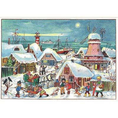 (Alexander Taron ADV47 Sellmer Advent - Village in Dutch Port - 8.25