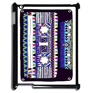 Audio Cassette Custom Hard Back Cover Case for iPad2,3,4 by Nickcase