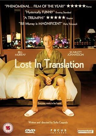 Lost In Translation [UK Import]: Amazon.de: Bill Murray, Scarlett ...