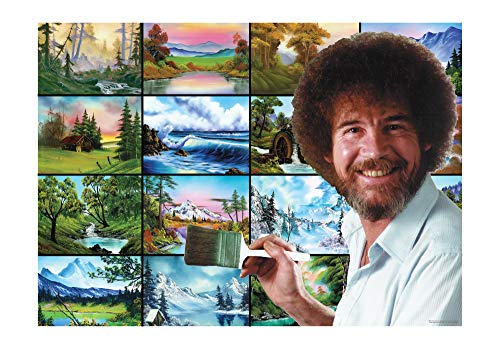Bob Ross These Things Live Right in Your Brush Puzzle for Adults and Kids | Nature Painting 1000 Piece Jigsaw Puzzle Toy…