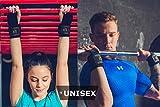 Leather Gymnastics Grips with Wide Wrist Wraps