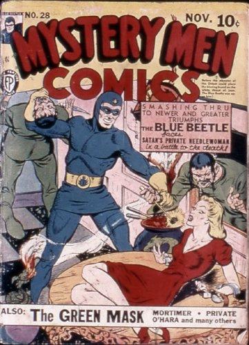 Mystery Men Comics #28 (Illustrated) (Golden Age Preservation - Paul Frank Frames