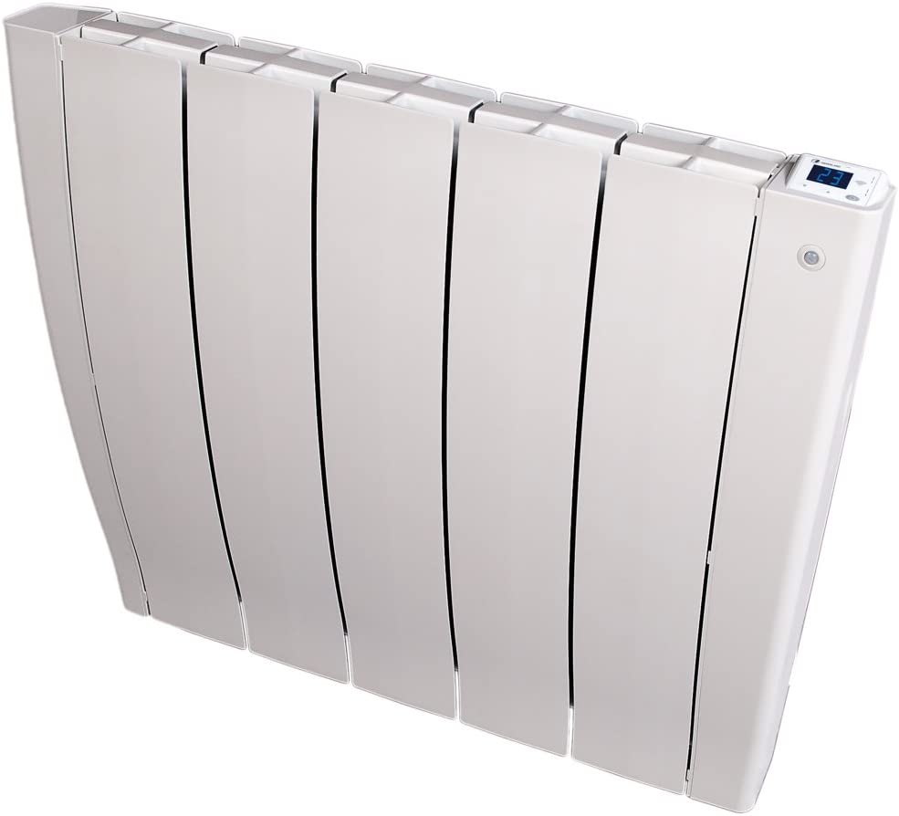 HAVERLAND IRIS5 - Emisor térmico Fluido, Autoprogramable, Autoaprendizaje, Sensor Presencia, Ideal Uso +6h/día, estancias de +/- 7-12 m², 750W