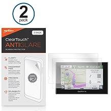 Garmin Nuvi 2589 Screen Protector, BoxWave® [ClearTouch Anti-Glare (2-Pack)] Anti-Fingerprint Matte Film Skin for Garmin Nuvi 2589
