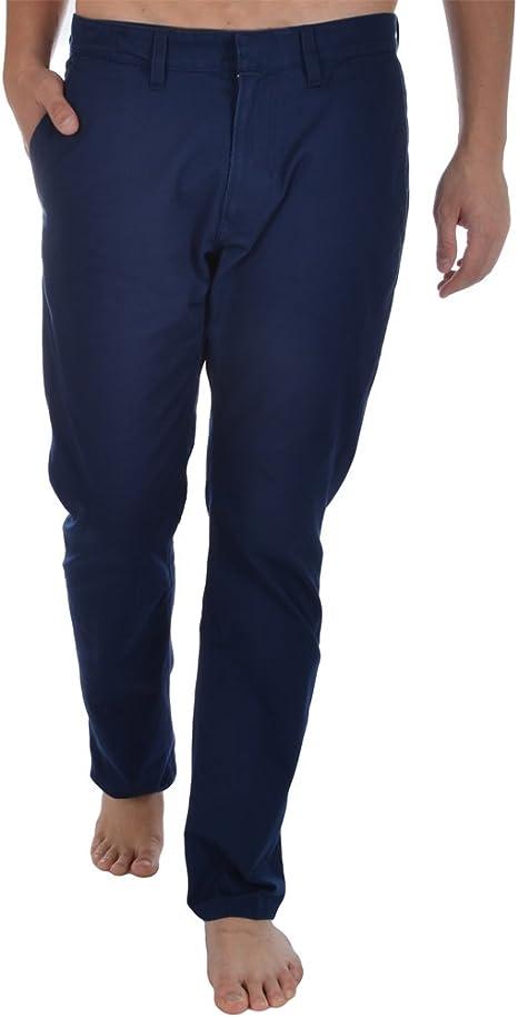 adidas Originals para Hombre Azul Oscuro Pantalones de algodón, Hombre, Azul, Medium: Amazon.es: Deportes y aire libre