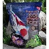 Blackwater Creek Color Koi Fish Food - 40 lbs. (Medium Pellet) with Exclusive BONUS Max Ponds Calendar Magnet