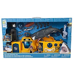 Animal Planet Sea Lab Playset - 513X6J9fGbL - Animal Planet Sea Lab Playset