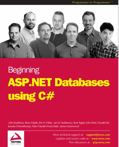 Beginning ASP.NET Databases using C# by Brand: Wrox Press