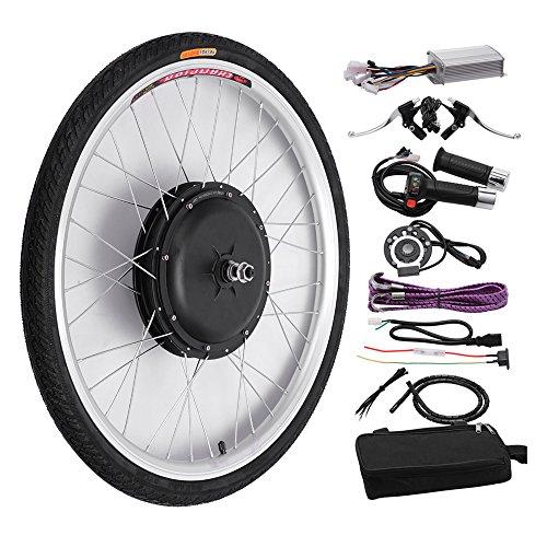 48V/1000W 26'' Front Wheel Bicycle Power-driven Refit Kit by YIXian