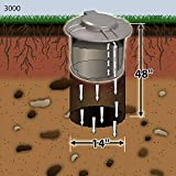 Doggie Dooley 3000 Septic-Tank-Style Pet-Waste