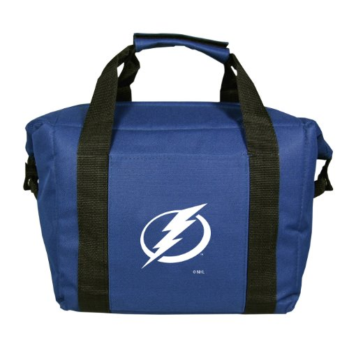 NHL Tampa Bay Lightning Soft Sided 12-Pack Cooler Bag by Kolder
