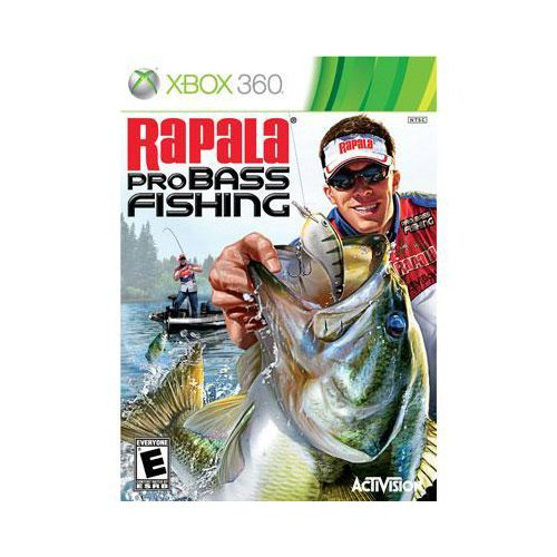 New Activision Blizzard Rapala Pro Bass Fishing 2010 Entertainment Complete Product Retail Xbox