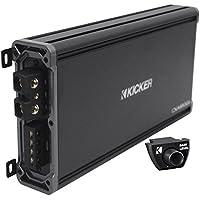 Package: Kicker 43CXA18001 1800 Watt RMS Mono Car Amplifier + Kicker 43CXARC Remote Control For CX or PX SERIES Car Amplifiers