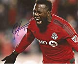 Signed Altidore Photograph - Toronto FC MLS 8x10 USA - Autographed Soccer Photos