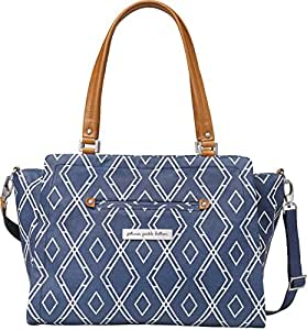 Petunia Pickle Bottom Statement Satchel Diaper Bag in Indigo