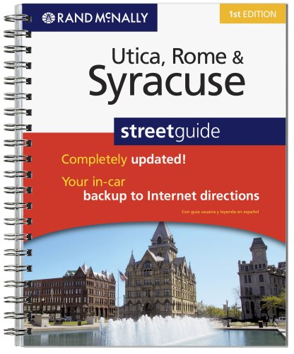Rand McNally Syracuse, Utica & Rome, New York street guide