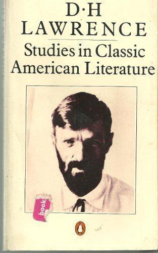0140033009 - D. H. Lawrence: Studies in Classic American Literature (Twentieth Century Classics) - Libro
