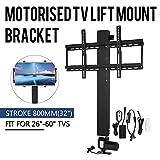 "Mophorn TV Lift Stand Motorized 31.5"" Stroke TV"
