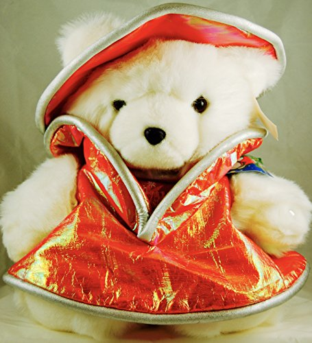 2001 - Target Brands / Marshall Field's - Mrs. SantaBear / A Christmas Odyssey 2001 - 15 Inch - Jeweled Left Paw - OOP - Very Rare - - Target Chicago Stores