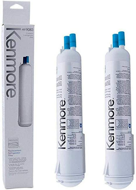 2 Pack Kenmore 9083 469083 9020 9030 Replacement Refrigerator Water Filter