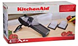 KitchenAid Mandoline Slicer 4pc Set - Black