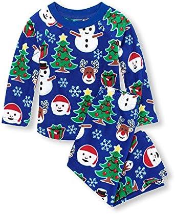 The Childrens Place Baby Christmas Pajama Set