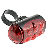 Cheap Cateye Bike Bicycle Light Rear Light Led Taillight Lamp Flashlight TL-LD1100 Red
