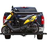 Black Widow MX-600X SteelMotorcycleCarrier–600lb.Capacity