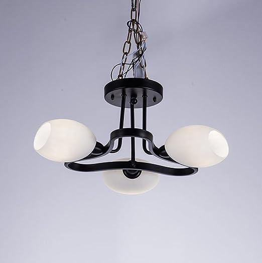 lámpara de techo de estilo americano/ lámpara de cristal de ...