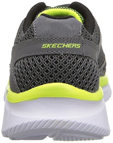 Skechers Equalizer - zapatilla deportiva de material sintético niño gris - Grau (CCYL)