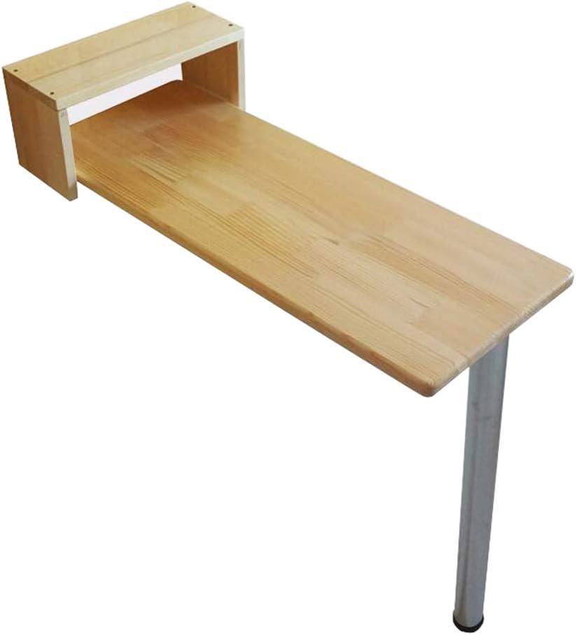 JIANPING Mesa Plegable Pared, Mesa de Cocina y cafetera, Mesa de Comedor, Escritorio de Oficina, computadora o estación de Trabajo, 80×30×85cm: Amazon.es: Hogar