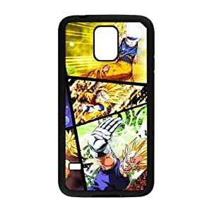 Personalized Custom Popular Anime Dragon Ball Z Series Ideas Printed for Samsung Galaxy S5 Phone Case Cover--WSM-050802-071