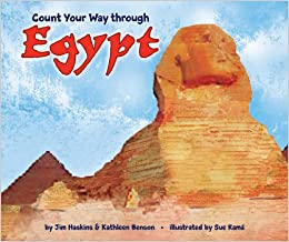 Book Count Your Way Through Egypt (English and Arabic Edition)