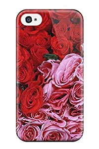 TYH - Best 9309627K71514704 Quality Case Cover With Flower Nice Appearance Compatible With Iphone 4/4s phone case
