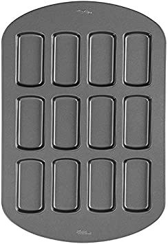 Wilton 2105-3648 Non-Stick 12-Cavity Treatwiches Cake Pan