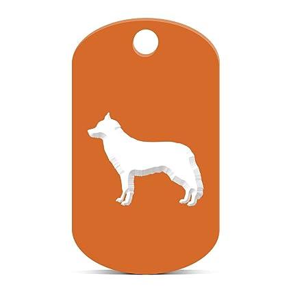 Amazon Com Siberian Husky Keychain Gi Dog Tag Engraved Canine Pet