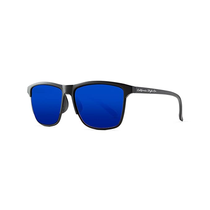 California Style Co. Wave Gafas de Sol, Azul, 140 Unisex ...