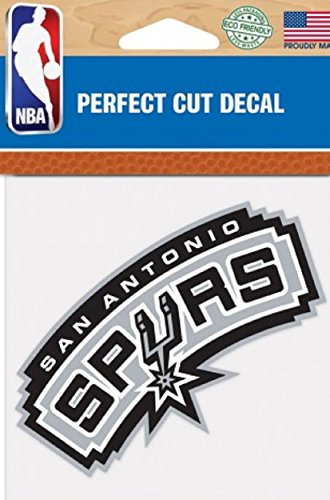 NBA San Antonio Spurs Perfect Cut Color Decal, 4